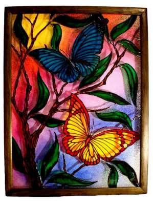 Картины. Роспись по стеклу._1