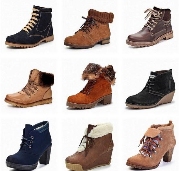 Ботинки женские осенние на фото. ТОП-27 женских ботинок на шнуровке
