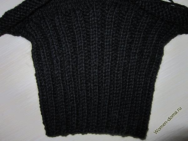 круговое вязание чулочными спицами