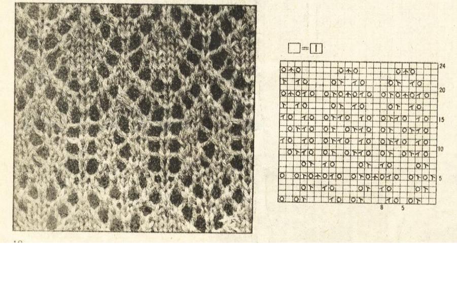 вязание болеро спицами со схемами.