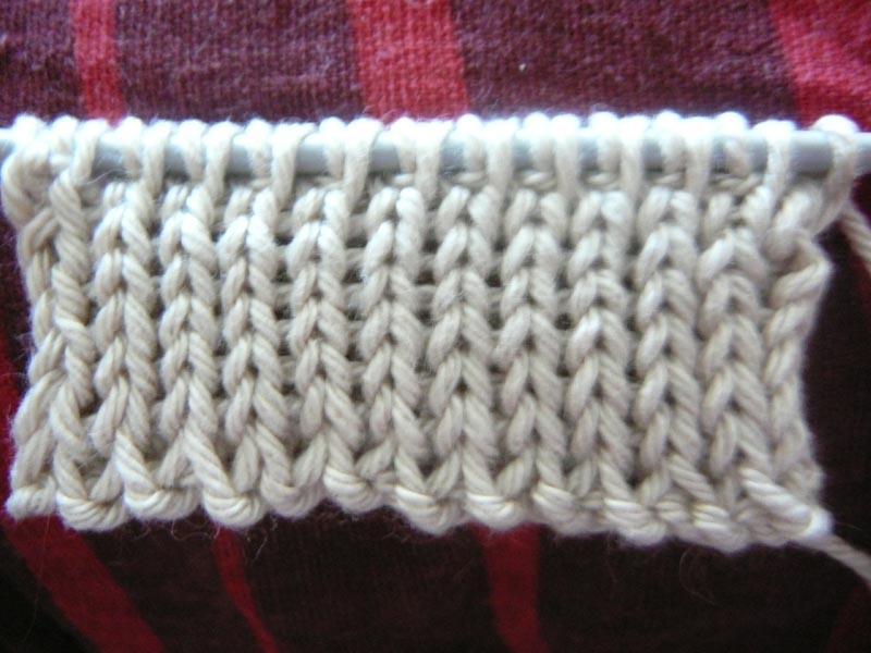 Вязание спицами плотная резинка