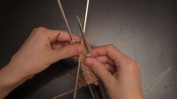 вязание полой резинки на круговых спицах основы вязания