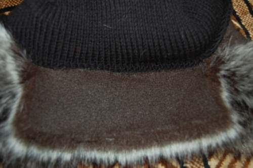 как сшить женскую меховую шапку-ушанку.