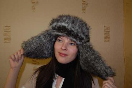 вязание шапок спицами со схемами женские ушанки.